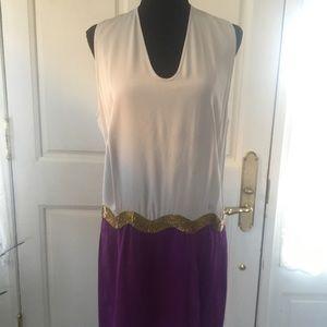 Diane Von Furstenberg cocktail dress, Size 10
